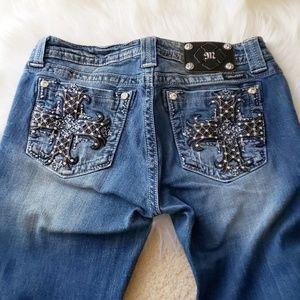 Miss Me Mid Rise Boot cut Denim Jeans